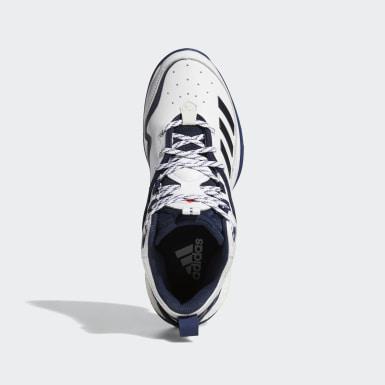 Men's Baseball White Icon 6 Turf Turf BP AJ99 Shoes