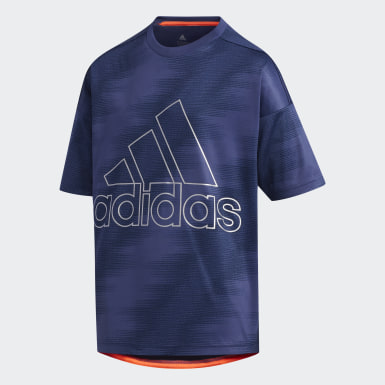 Boys Training Blue TR Train Tee