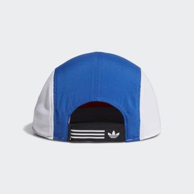 Men's Originals Blue Blocked Five-Panel Hat