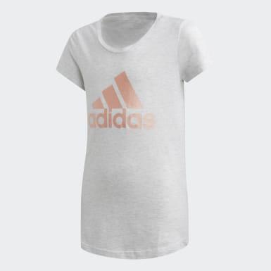 Camiseta ID Winner Blanco Niña Training