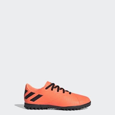 Calzado de Fútbol Goletto VII Pasto Sintético Naranja Niño Fútbol