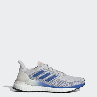 Women's Running Grey Solarboost 19 Shoes