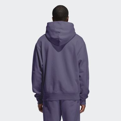 Originals Paars Pharrell Williams Basics Hoodie (Uniseks)