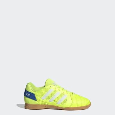 Chaussure Top Sala Jaune Garçons Futsal