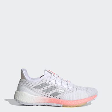 Women Running White Pulseboost HD SUMMER.RDY Shoes