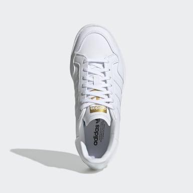Tenis Team Court (UNISEX) Blanco Niño Originals