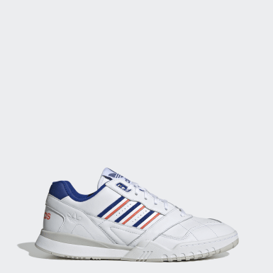 Originals White A.R. Trainer Shoes