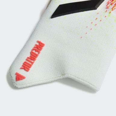 Guanti da portiere Predator 20 Pro Fingersave Bianco Calcio