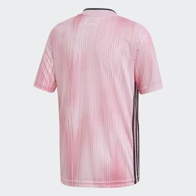 Camisa Tiro 19 Rosa Meninos Futebol