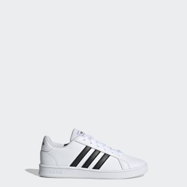 Chaussure Grand Court. blanc Enfants Essentials