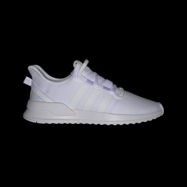 Originals White U_Path Run Shoes