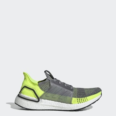 Men Running Grey Ultraboost 19 Shoes