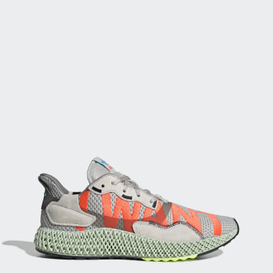 Originals Grey ZX4000 4D Shoes