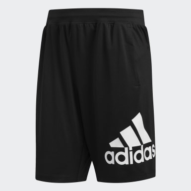 Shorts 4KRFT Sport Badge of Sport Negro Hombre Training