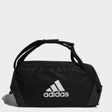 Handball Black Duffel Bag 50L