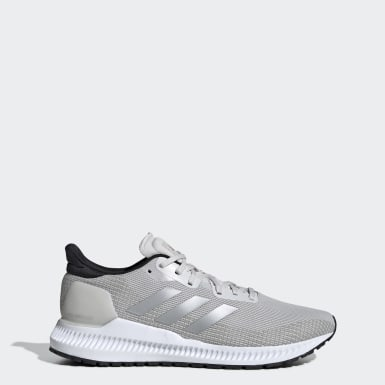 Men's Running Grey Solar Blaze Shoes