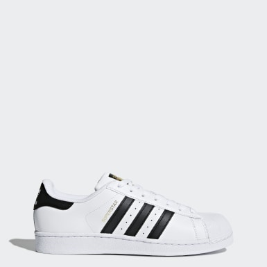 adidas superstar rosse in pelle