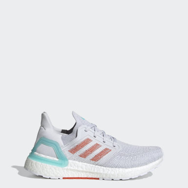 Tenis Ultraboost 20 Primeblue Gris Mujer Cycling