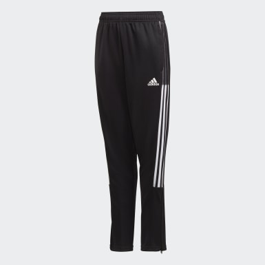 Youth Soccer Black Tiro 21 Track Pants