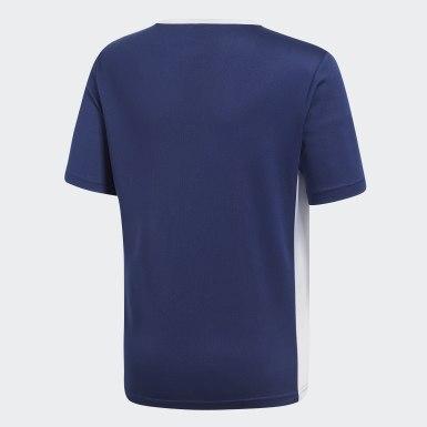 Boys Football Blue Entrada Jersey