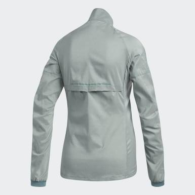 зеленый Куртка для бега Supernova Confident Three Season