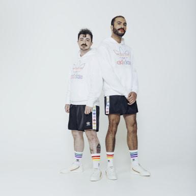 Shorts Pride Trefoil Tape Preto Homem Originals