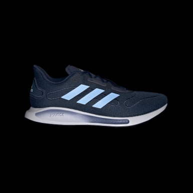 Men Running Blue Galaxar Run Shoes