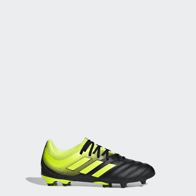 Zapatos de Fútbol Copa 19.3 Terreno Firme Negro Niño Fútbol