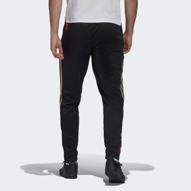 Men's Soccer Black Tiro 21 LNY Warm Pants