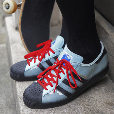 Chaussure Blondey adidas Superstar Bleu Originals
