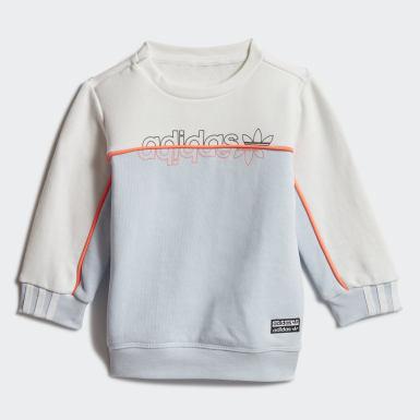 Barn Originals Blå Crew Sweatshirt Set