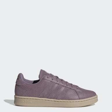 Sapatos Grand Court Roxo Mulher Lifestyle