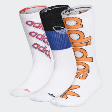 Men's Originals Multicolor Defy Crew Socks 3 Pairs