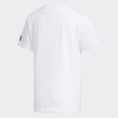 Camiseta Cotton Blanco Niño Yoga