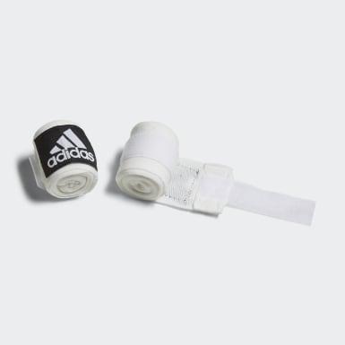 Fasce da boxe Crepe Bianco Boxe