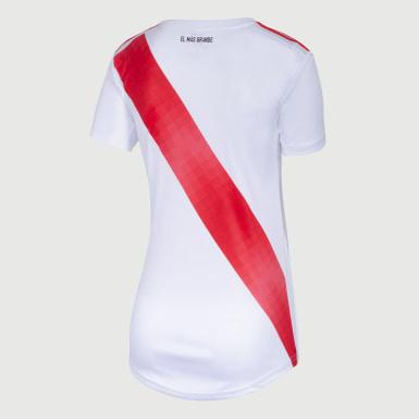 Camiseta Titular River Plate Blanco Mujer Fútbol