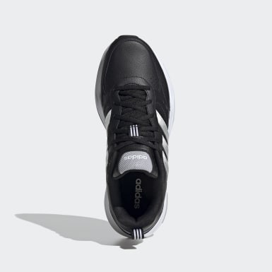 Men Sport Inspired Black Strutter Shoes