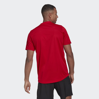 Men Training Red AEROREADY Designed To Move Sport Tee