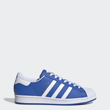 Zapatilla Superstar Azul Originals