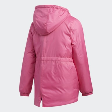 Girls Training Pink Insulated Jacket
