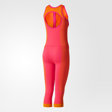 Traje Yoga Seamless All in One Rosa Mujer adidas by Stella McCartney