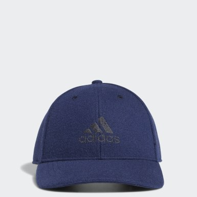 Men Golf Blue Tweed Cap