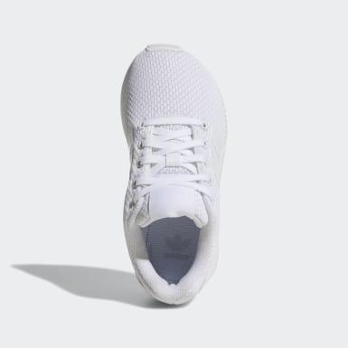Kinder Originals ZX Flux Schuh Weiß