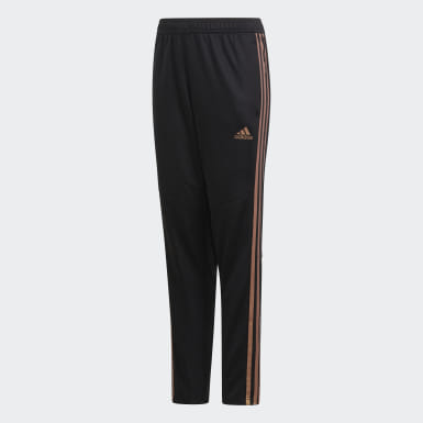 Youth Soccer Black Tiro 19 Training Pants