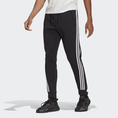Men Athletics Black adidas Sportswear 3-Stripes Sweat Pants