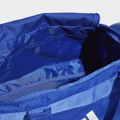 Bolsa 3 Stripes Duffel Pequena Conversível Azul Training