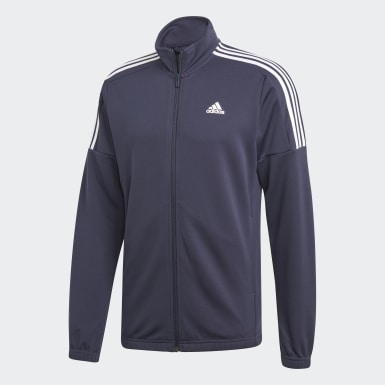 Men Athletics Blue Team Sports Tracksuit