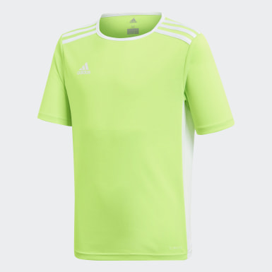 Youth 8-16 Years Training Green Entrada Jersey