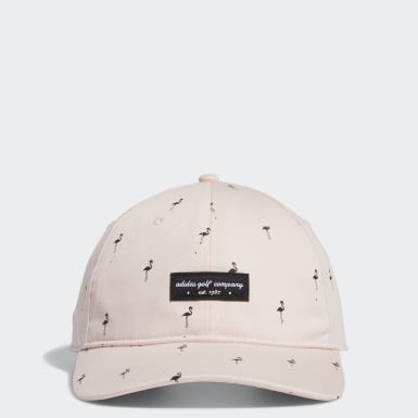 Men Golf Pink Golf Flamingo-Print Hat