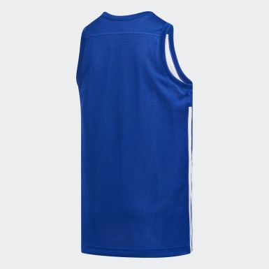 Camiseta Reversible 3G Speed Azul Niño Baloncesto